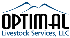 Optimal Livestock Services, LLC Logo.